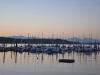 Boston Harbor Marina at Sunset