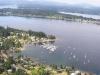 NW Aerial view Boston Harbor Marina