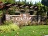 Chateua Ridge monumnet at neighborhood entry
