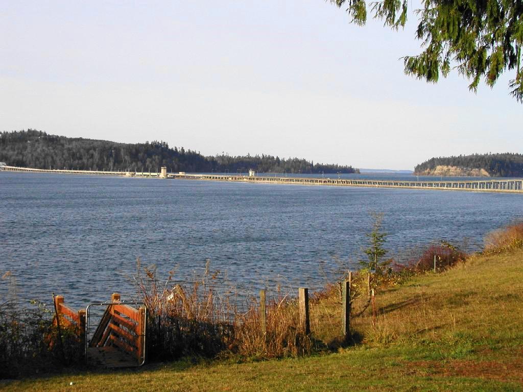 Lofall looking North toward Hood Canal Bridge