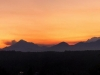 Sunset Panorama of the Olympics from Havn Heights
