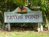 Kevos Pond Entry monument of Lincoln Rd in Poulsbo