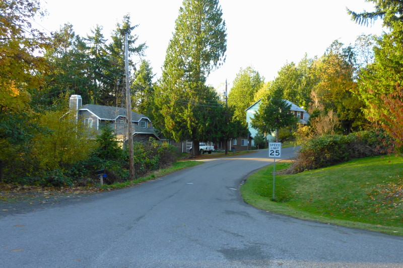 Street view in Miller Bay Estates