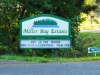 Entrance monument for Miller Bay Estates