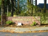 Monument at entry to Poulsbo Garden neighborhood in Poulsbo